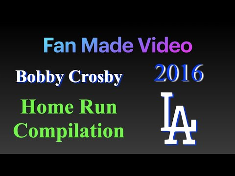 Bobby Crosby Homerun Compilation 2016