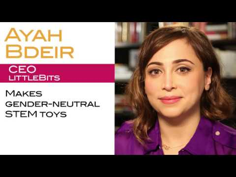 LittleBits founder Ayah Bdeir on the Need for Gender-Neutral STEM ...