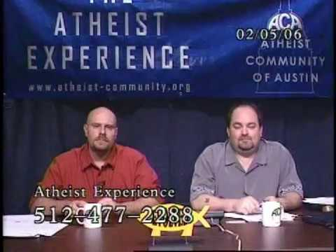 Atheist Experience #482 with Matt Dillahunty and Russell Glasser from YouTube · Duration:  1 hour 29 minutes 12 seconds