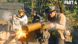 RED DEAD REDEMPTION 2 - FULL GAMEPLAY WALKTHROUGH PART 4 (RDR2 PS4 Pro Gameplay)