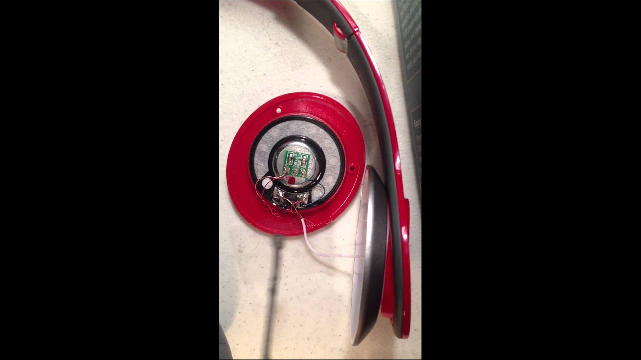 solder beats by dre headphones speaker fix. Black Bedroom Furniture Sets. Home Design Ideas