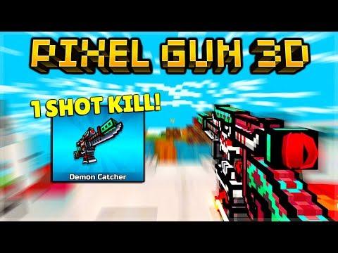 DEMON CATCHER 1 Shot Kill Every-time!🩸 | Pixel Gun 3D