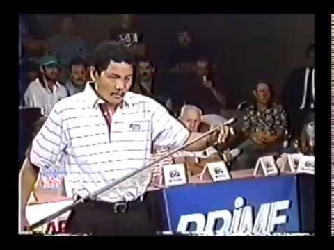 1995 World 8-Ball Championship Efren Reyes VS Jeff Carter