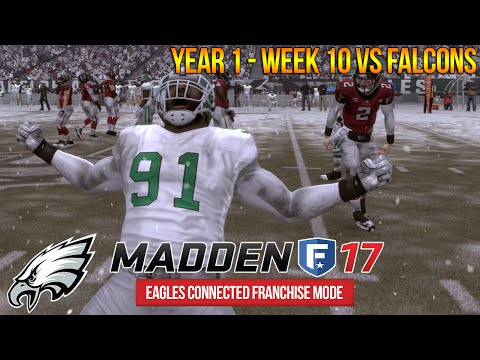 COX = Reggie White 2.0  - Madden 17 Eagles Connected Franchise - Week 10 vs Falcons | Ep. 15