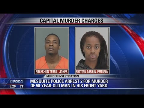 2 Arrested For Murdering Mesquite Grandfather During Robbery