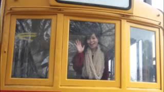 説明 今年の秋はどんな秋?募集 阪急電車 古い列車 レトロ列車 電車の冷...