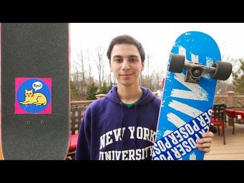 New Cruiser Skateboard Setup – Josh Katz