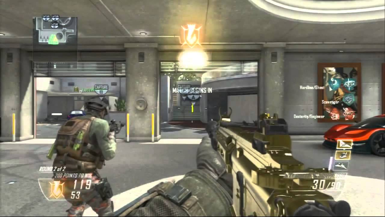 Black And Red >> Black Ops 2 - 151-1 GOLD M27 Assault Rifle (BO2 Multiplayer Gameplay) - YouTube