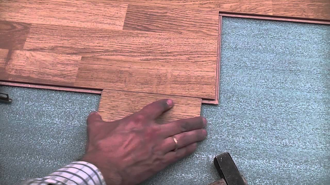 Laminate Flooring Installation Trick