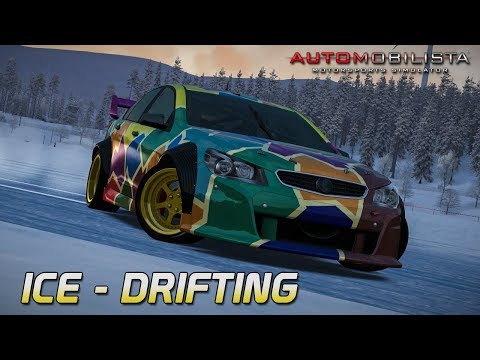 Ice Drifting! | Automobilista Beta [GER] [HD] Super V8 Drift @ Buskerud Ice
