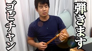 モトキが新しい弦楽器を弾きはじめたみたいです