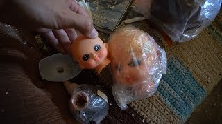 ABANDONED GHOST TOWN - KENT OREGON ( Freaky Doll Heads! )