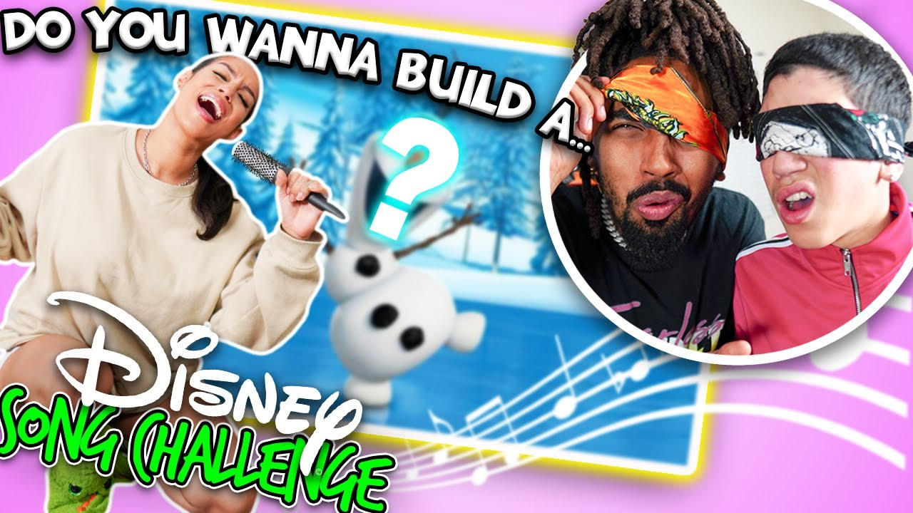 DISNEY SONG CHALLENGE!! THE BOYS TRY TO GUESS DISNEY SONGS 😂