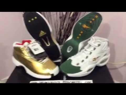 new concept 1d4e4 c6f04 Packer shoes Adidas Crazy 1 Award Season and Reebok Mid Lebron James
