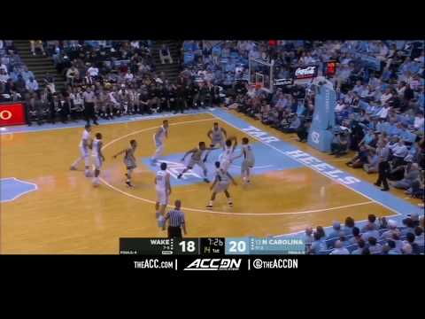 Wake Forest vs North Carolina College Basketball Condensed Game 2017