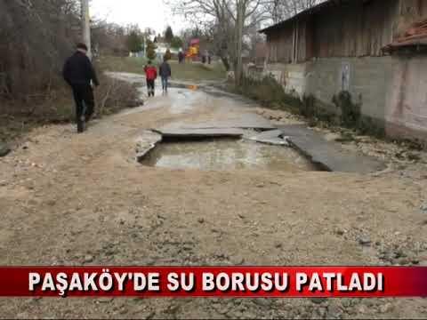 BOMBA GİBİ PATLAYAN SU BORUSU SELE NEDEN OLDU (12.12.2018)
