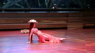 ELENA Fosteri belly dance on Austrelia day in Fediration square 2015