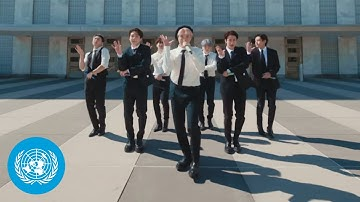 """BTS - """"Permission to Dance"""" performed at the United Nations General Assembly   SDGs   Official Video"""