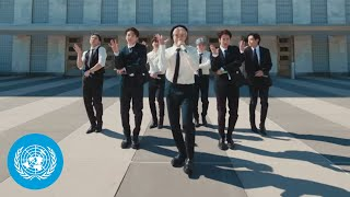 """Download BTS - """"Permission to Dance"""" performed at the United Nations General Assembly 