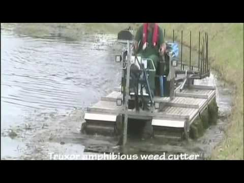 Land & Water Amphibious Weed Cutter