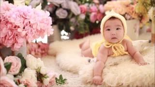 100일 촬영 3차 (5개월아기) 분당 베이비파스텔 스…