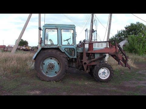 Трактор МТЗ 82 Беларусь