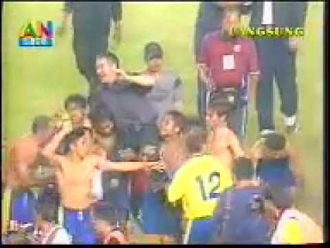 Petrokimia Putra vs Persita final LIGA INDONESIA 2002