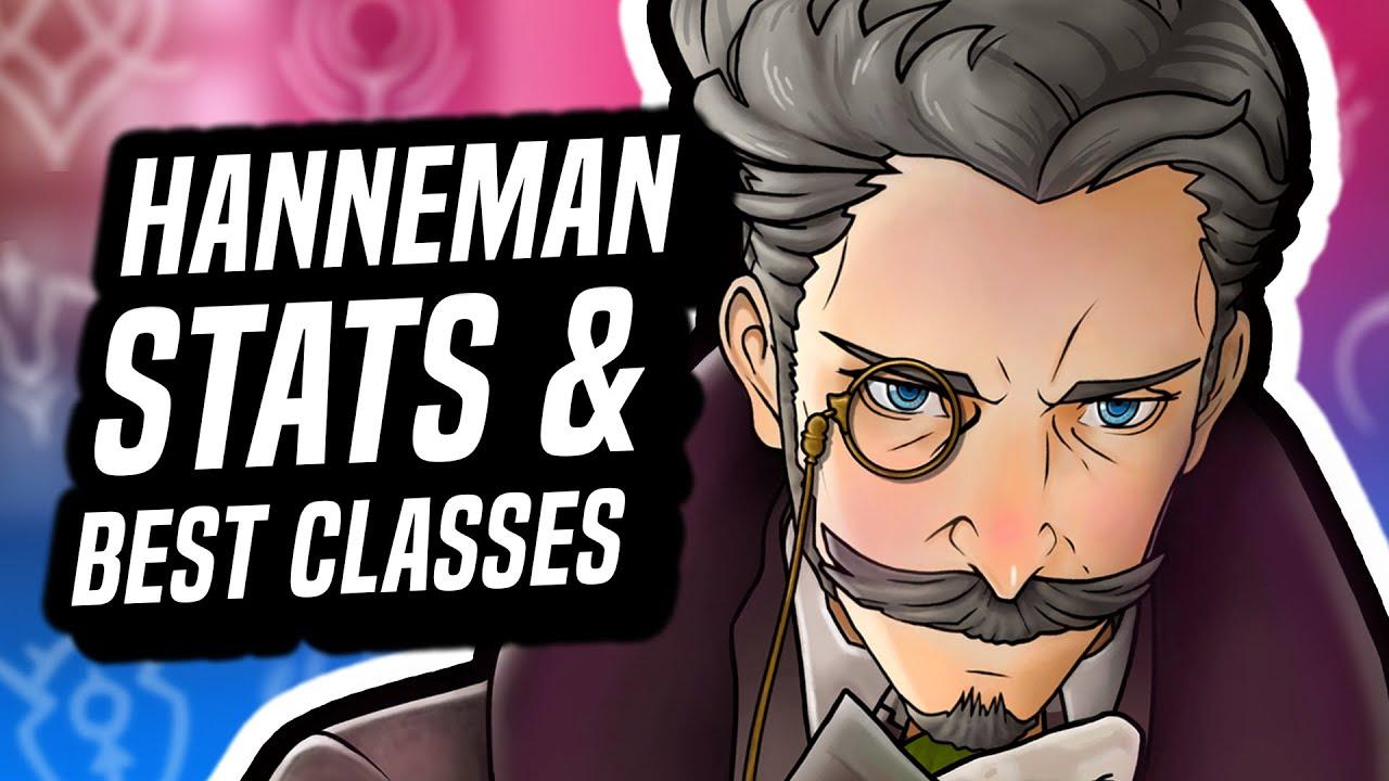 Download Hanneman, Crest Scholar Extraordinaire Guide - Fire Emblem Three Houses (Stats & Best Classes)