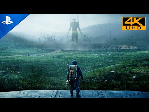 Death Stranding   PS5 4K HDR Realistic Next-Gen Graphics PlayStation 5 Gameplay