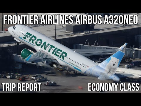 [Trip Report] Frontier Airlines Airbus A320 NEO Islip (ISP) - West Palm Beach (PBI)