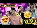 RELATIONSHIPS: BEGINNING V.S. 1 YEAR