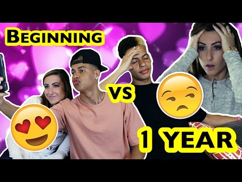 RELATIONSHIPS: BEGINNING V.S. 1 YEAR