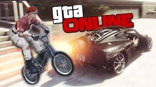 GTA ONLINE - ЛЕТАЮЩИЙ BMX НА РЕАКТИВНОЙ ТАЧКЕ! #316