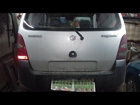 Обзор Suzuki Wagon R+ / Сузуки Вагон Эр+.Лопнула верхняя опора стойки.