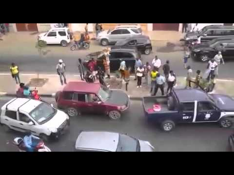 Big Man vs The Police in Angola
