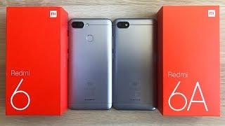 Xiaomi Redmi 6 vs Redmi 6a - ВСЕ ОТЛИЧИЯ / ЧТО ЛУЧШЕ?