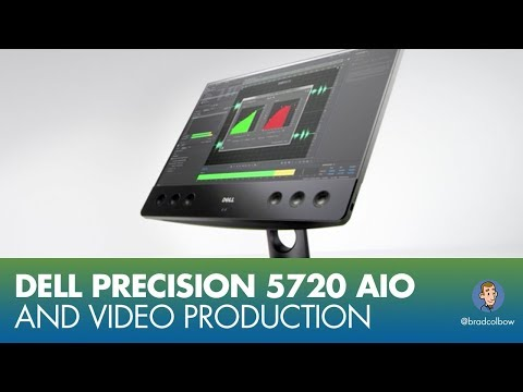 Dell Precision 5720 AIO and Canvas for video production