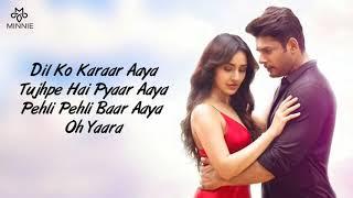 Dil Ko Karaar Aaya Full Song With Lyrics Yasser Desai   Neha Kakkar   Dil Ko Karar Aaya