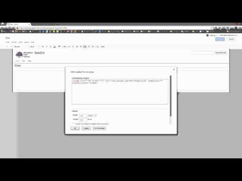 Autoplay YouTube in Google Sites