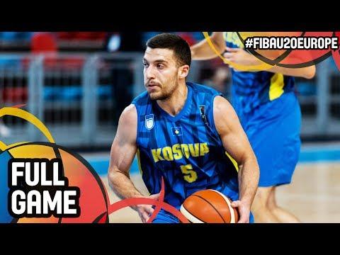 Kosovo v Ireland - Full Game - FIBA U20 European Championship 2017 - DIV B