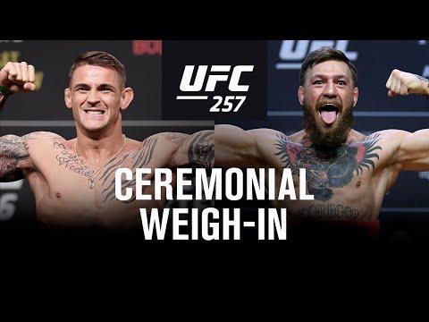 UFC 257: Weigh-in