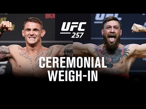 UFC 257: Weigh-in