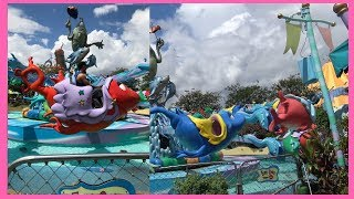 Baby Shark Song |One Fish Two Fish Redfish Bluefish ride In Seuss Landing