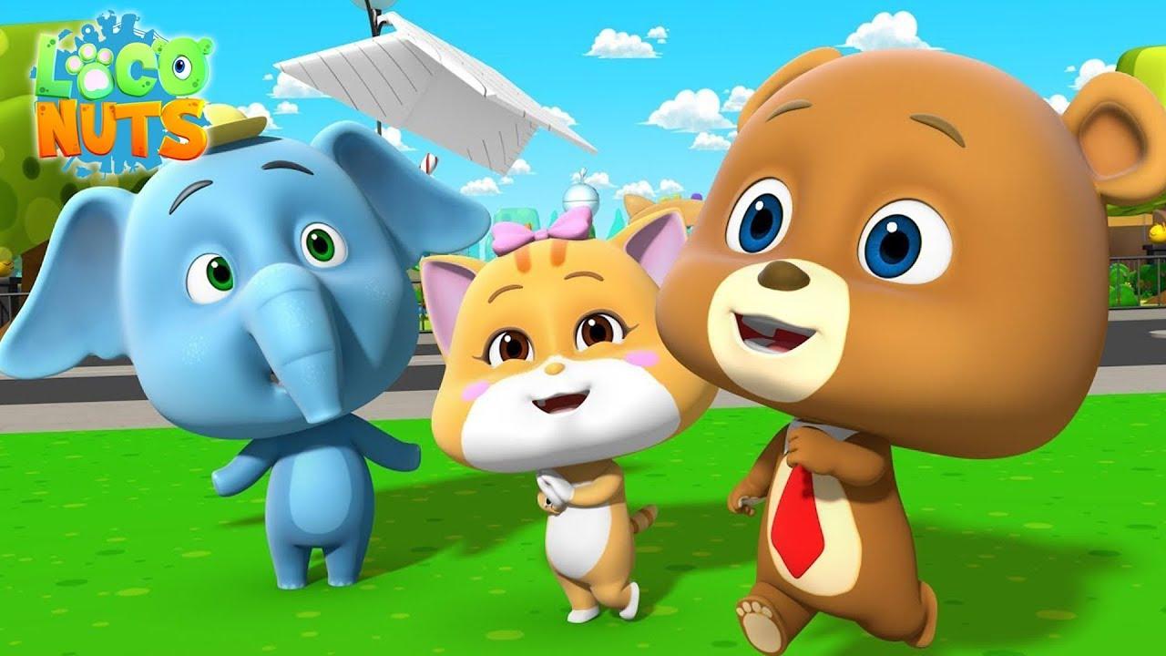 Kids Shows | Funny Cartoon | Loco Nuts | Cartoon Videos for Babies | Comedy Cartoon Shows