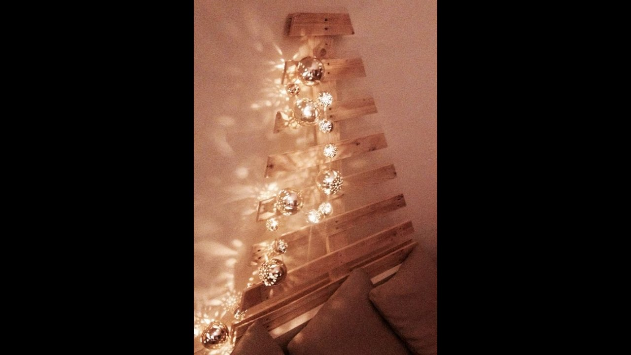 how to make a christmas tree with pallet wood - Pallet Wood Christmas Tree