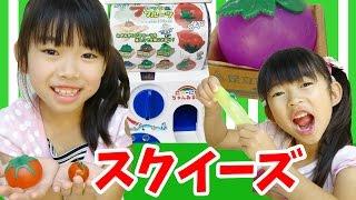 おうちでガチャ★スクイーズ「ぷるるーんフレッシュフルーツ」★にゃーにゃちゃんねるnya-nya channel thumbnail