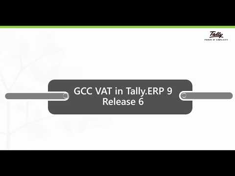 Be VAT (Gulf) Ready with Tally