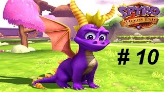 spyro 5 a hero s tail gc 10 spyro vs red