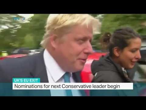 Nominations for next Conservative leader begin in UK, Sarah Morice reports