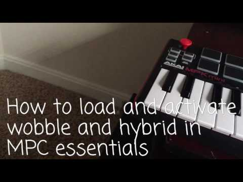 How to install MPC MPK mini Hybrid and Wobble.